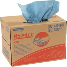 Kimberly Clark<span class='rtm'>®</span> WypALL<span class='afterCapital'><span class='rtm'>®</span></span> X80 Heavy-Duty Wipers