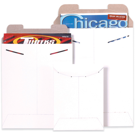 White Flat Mailers
