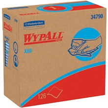 Kimberly Clark<span class='rtm'>®</span>WypALL<span class='afterCapital'><span class='rtm'>®</span></span> X60 Industrial Wipers