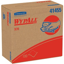 Kimberly Clark<span class='rtm'>®</span> WypALL<span class='afterCapital'><span class='rtm'>®</span></span> X70 Industrial Pro Wipers