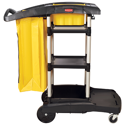 Rubbermaid<span class='rtm'>®</span> High-Capacity Janitor Cart