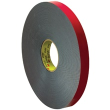 "1"" x 5 yds. Gray 3M<span class='tm'>™</span> 4646 VHB<span class='tm'>™</span> Tape"